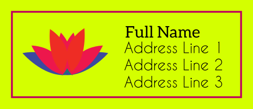 Address Label 1